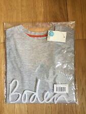 BNWT  Boden Grey Boys T-shirt Age 9 - 10 EU 140 cm
