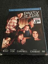 PARTY OF FIVE BOX SET COMPLETE FIRST (1) SEASON USED 5 DISC FREE S/H