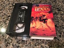 Texas James A. Michener Rare VHS! Republic Pictures 1994 War Film Stacey Keach!