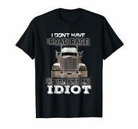 Trucker Truck Driver Trucker Cap Snapback Hat T-shirts Tee US cotton trend 2019