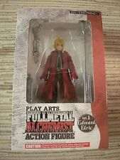 FIGURA FULLMETAL ALCHEMIST PLAY ARTS ACTION FIGURE EDWARD ELRIC SQUARE ENIX MINT