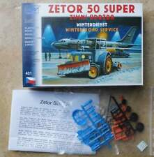 Traktor Zetor 50 Super Winterdienst    1:87 - Bausatz