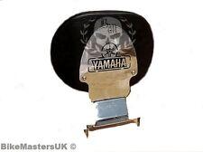 YAMAHA XV 535 XV535 VIRAGO STAINLESS STEEL DRIVER RIDER BACKREST