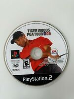 Tiger Woods PGA Tour 2006 (PS2 Playstation 2) WORKS / NO TRACKING / DISC ONLY