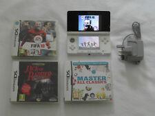 Nintendo 3DS Ice White Console Bundle ***FAST DISPATCH ** FREE UK P&P***