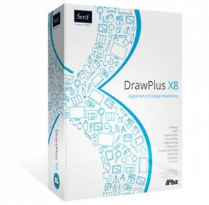 Serif DrawPlus X8, Windows, Download, New