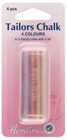 Hemline Tailors Chalk - Pack of 4 Chalks