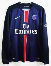 Psg Paris Saint-Germain #10 Ibrahimovic Nike Dri-Fit Long Sleeve Soccer Jersey