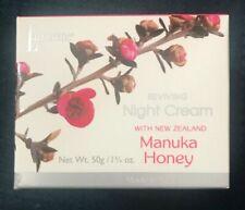 Lanocreme Reviving Night Cream, Manuka Honey – 1 ¾ oz.