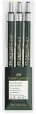 #136030 Faber-Castell TK-Fine Lead Professional Artist Pencils Wallet of 3