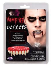 Double Fang False Teeth Vampire Dental Veneer Horror Costume Makeup Accessory