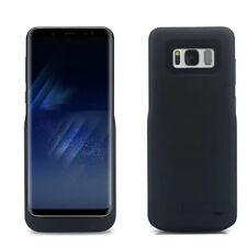 JLW Power Bank Battery Holder Case fr Samsung Galaxy S8 + External Charger Cover