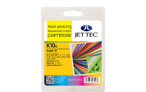 Jet Tec K10C Remanufactured Kodak 10 colour inkjet printer ink cartridges