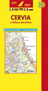 Cervia e Milano Marittima Pianta Città e Provincia [1:11.000] [Carta/Mappa]