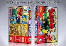 POKEMON SNAP. ENGLISH. Box/Case. Nintendo 64. BOX + COVER. (NO GAME).