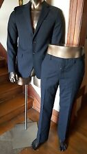 MIU MIU great fitted stripes SUIT - Made in Italy - Size 40