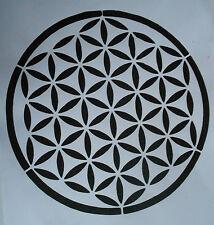 Schablone Blume des Lebens auf A4