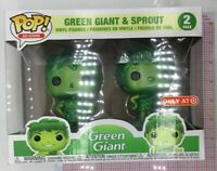 Funko Pop! Ad Icons: Green Giant and Sprout Metallic 2-Pack Target Exclusive K03