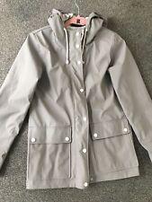 Topshop PVC Grey Jacket Size 6 Petite