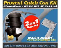 ProVent Oil Catch Can Kit for Nissan Navara 2015-on D23 NP300