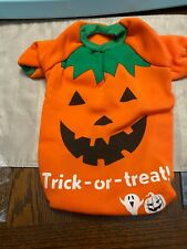 Halloween Pumpkin Costume for Dogs  - XL- Trick or Treat New Open Package