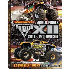2011 Monster Jam World FInals XII DVD New Sealed! Free Shipping!