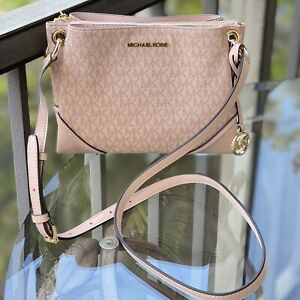 Michael Kors Women PVC Leather Crossbody Bag Handbag Messenger Shoulder Ballet