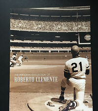 The Personal Collection of Robert Clemente Hunt Auctions advertising catalog 201