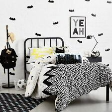 ADAIRS KIDS KAPOW BATMAN SUPER HERO QUEEN bed QUILT DOONA COVER SET NEW