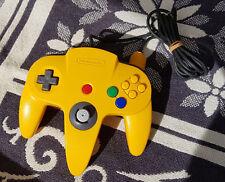 Original Controller Nintendo 64 N64 Gelb