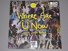 "SKRILLEX & DIPLO w/ J Bieber Where Are U Now 12"" RSD Yellow Vinyl LP New Sealed"