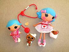 Lalaloopsy Rosy Bumps n Bruises Pet Little Sister Stetho  Clothes Shoes Lot D7