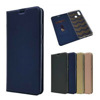 Magnetic PU Leather Flip Case Shockproof Card Cover for Xiaomi Mi Max 3