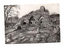 Scotland - Dundrennan Abbey, The Chapter House - Vintage Postcard