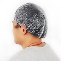 Bulk Lot 100PCS Disposable Cr Shower Bathing Hair Cap Bath Home Salon SPA Hat