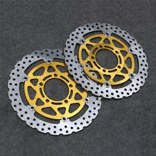 Front Brake Disc Rotors Fit For Kawasaki ER-6F ER6N KLE 650 Versys Z 750 ABS