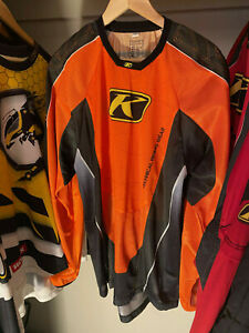 Klim Technical Riding Gear Team Jersey XL snowmobile motocross shirt breathable