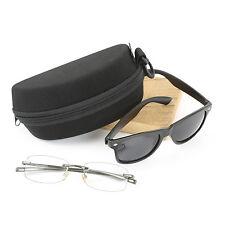 Molded Foam Double Eyeglass Case or Double Sunglass Case