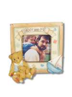 Enesco Priscilla Hillman Daddy And Me Cherished Teddies Teddy Bear Picture Frame