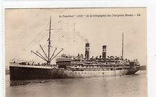 "LE PAQUEBOT ""ASIE"": SHIPPING POSTCARD (C4212)."