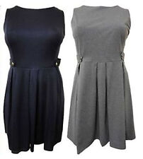 Unbranded Tunic Plus Size Sleeveless Dresses for Women