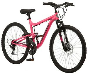 """Women's 26"""" Major Mountain Pro Bike 21-Speed Bicycle, Pink In Hand! Ships Fast!"""