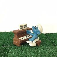 Smurfs Piano Smurf 40229 Vintage 1983 Figure Schleich Toy Music Peyo