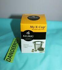 Keurig My K Cup Coffee Maker Custom Gourmet Single Brew Portable Pod In Box