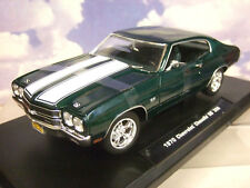Greenlight 1/18 John Wick'S 1970 Chevrolet Chevy Chevelle SS 396 atteint Vert 13505