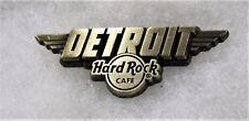 HARD ROCK CAFE DETROIT 2017 DESTINATION NAME SERIES PIN # 95798