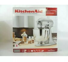 Nib Kitchenaid Ksm150Pscu 5-Quart Tilt-Head Stand Mixer - Contour Silver