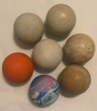 Lot of 7 used lacrosse balls Champion sports Brine