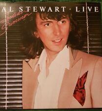 """AL STEWART - LIVE  """"Indian Summer"""" 2 x Vinyl LP in Gatefold Sleeve"""