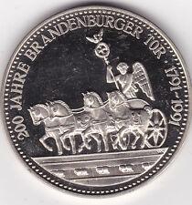 200 Jahre Brandenburger Tor 1791 - 1991 Einigkeit Recht Freiheit Preussen Prussi